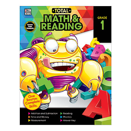 Thinking Kids® Total Math And Reading, Grade 1