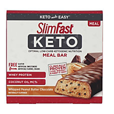 SLIM FAST Keto Meal Bar Whipped