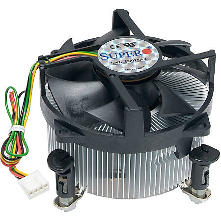 Supermicro 2U Pentium D LGA 775 Active Heatsink & Cooling Fan - 4000rpm