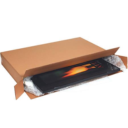 "Office Depot® Brand Side-Loading Boxes, 35""H x 6""W x 44""D, Kraft, Bundle Of 10"