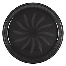 Amscan Round Plastic Platters 16 Jet