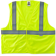 Ergodyne GloWear Safety Vest After Flame