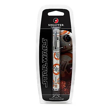 Sheaffer® POP Star Wars Roller Pen, Medium Point, 0.7 mm, BB8, Black Ink