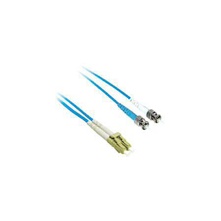 C2G-1m LC-ST 50/125 OM2 Duplex Multimode PVC Fiber Optic Cable - Blue - Fiber Optic for Network Device - LC Male - ST Male - 50/125 - Duplex Multimode - OM2 - 1m - Blue