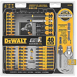 Dewalt 40 Pc IMPACT READY Screwdriving