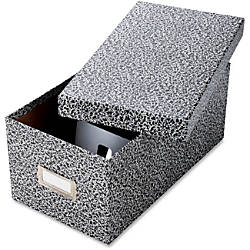 Oxford Index Card Storage Boxes Media