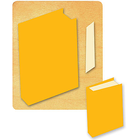Ellison® Prestige® SureCut™ Die, Classroom Essentials, Large, Closed Book