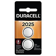 Duracell 3 Volt Lithium 2025 Coin
