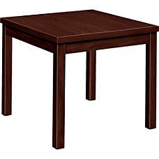 HON Occasional Corner Table Mahogany