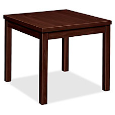 HON Occasional Table End Mahogany