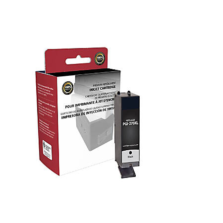 Clover Imaging Group 118144 (Canon 0319C001) Remanufactured High-Yield Black Ink Cartridge