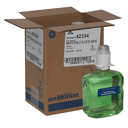 enMotion® by GP PRO Gen2 Moisturizing Foam Hand Sanitizer Dispenser Refill, 1,000 ml, Case Of 2