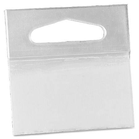 "3M Pad Hang Tabs - 10 Tab(s) - 2"" Tab Height x 2"" Tab Width - Self-adhesive - Clear Polyester Tab(s) - 50 / Pack"