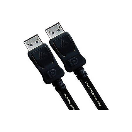 Accell UltraAV DisplayPort to DisplayPort Version 1.2 Cable - 6.56 ft DisplayPort A/V Cable for Audio/Video Device, Monitor, TV - First End: 1 x DisplayPort Male Digital Audio/Video - Second End: 1 x DisplayPort Male Digital Audio/Video - Shielding