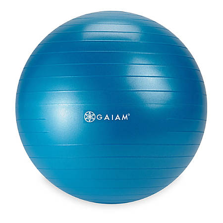 Gaiam Kids' Balance Ball, Blue