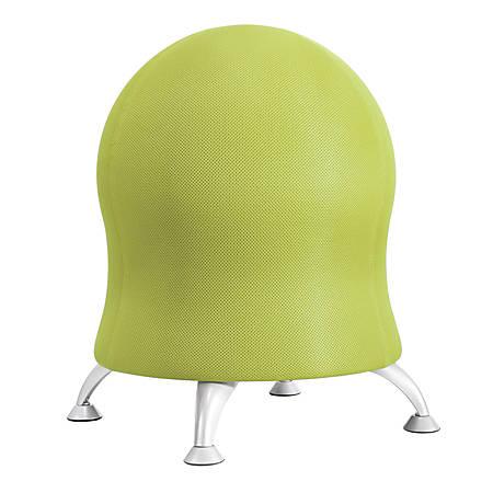 "Safco® Zenergy Exercise Ball Stool, 23""H x 22 1/2""W x 22 1/2""D, Grass"