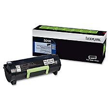 Lexmark 50F1H00 Return Program High Yield