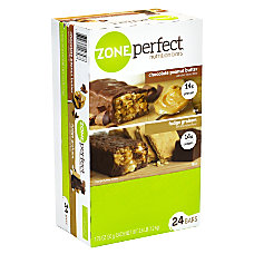 ZonePerfect Nutrition Bars Chocolate Peanut ButterFudge