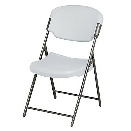 Iceberg Rough 'n' Ready Folding Chair, Platinum