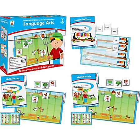 Carson-Dellosa File Folder Games To Go® — Language Arts: Grade 2