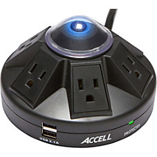 Accell Powramid 6 Outlet Power Center