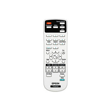 Epson Replacement Projector Remote Control - For Projector
