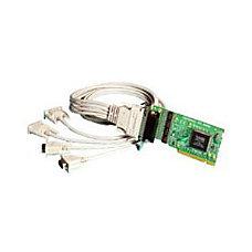 Brainboxes 4 Port RS 232 Universal