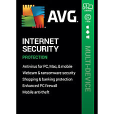 AVG Internet Security 2020 3 Devices