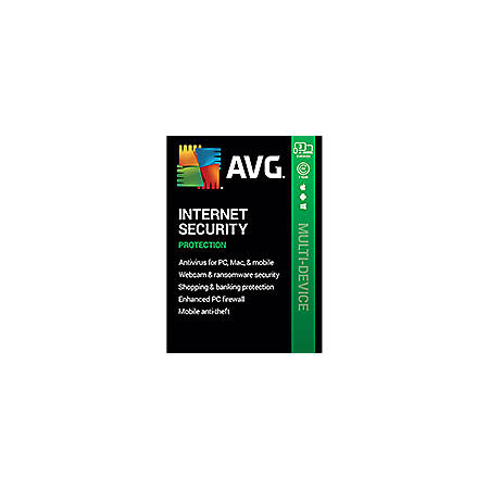 AVG Internet Security 2020 | 3 Devices 1 Year | Download