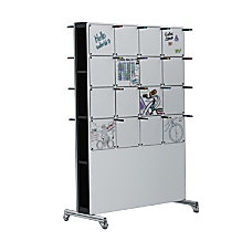 McSquares 2 Sided Magnetic Dry Erase
