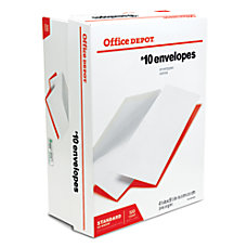 Office Depot All Purpose Envelopes 10