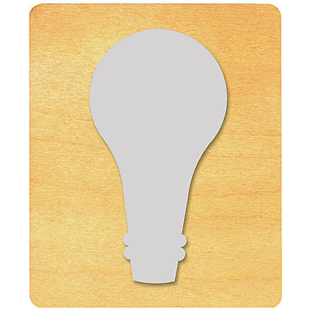 Ellison® Prestige® SureCut™ Die, Science & Weather, Large, Light Bulb