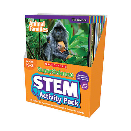 SuperScience STEM Instant Activities, Grades 1-3