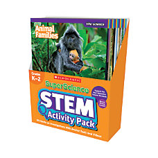 SuperScience STEM Instant Activities Grades 1