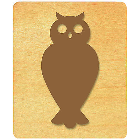 Ellison® Prestige® SureCut™ Die, Birds & Bugs, Large, Owl #1