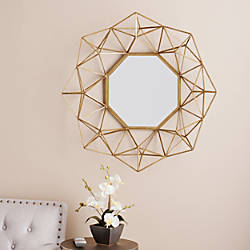 Southern Enterprises Holton Decorative Octagonal Mirror