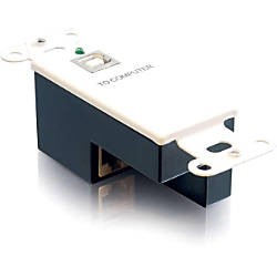 C2G USB 11 Superbooster Wall Plate