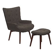Ave Six Dalton Chair With Ottoman