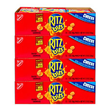 RITZ Bits Cheese Sandwich Crackers 1