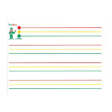 "Kurtz Bros. PrintWrite® Handwriting Filler Paper, 11"" x 8 1/2"", 250 Sheets (500 Pages), Pack Of 2"