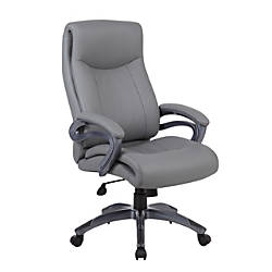 Boss High Back Faux Leather Chair