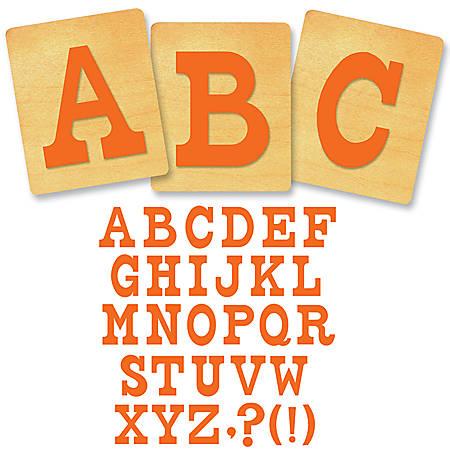 """Ellison® Prestige® SureCut™ Alphabet Set, 4"""", Circus™ Capital Letters"""