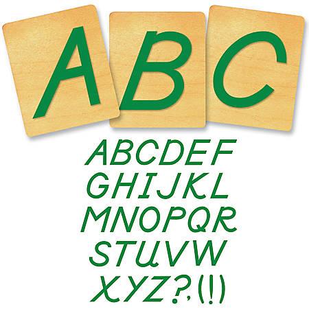 "Ellison® Prestige® SureCut™ Alphabet Set, 4"", D'Nealian® Capital Letters"