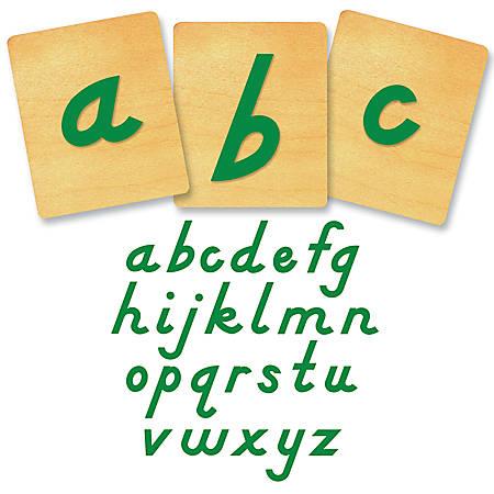 """Ellison® Prestige® SureCut™ Alphabet Set, 4"""", D'Nealian® Lowercase Letters"""