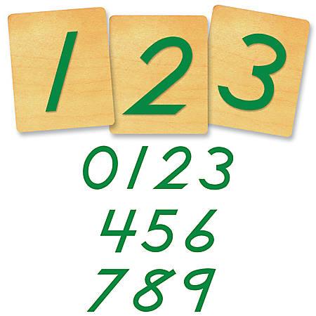 "Ellison® Prestige® SureCut™ Number Set, 4"", D'Nealian®"