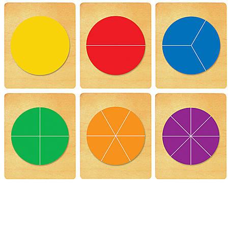 Ellison® Prestige® SureCut™ Set, Math, Large, Fraction Circles (6 Die Set)