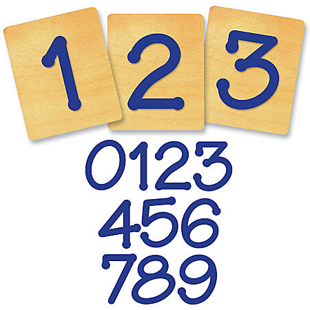 "Ellison® Prestige® SureCut™ Number Set, 4"", Lollipop™"