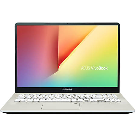 "Asus VivoBook S15 S530FA-DB51 15.6"" Notebook - 1920 x 1080 - Core i5 i5-8265U - 8 GB RAM - 256 GB SSD - Icicle Gold - Windows 10 Home 64-bit - Intel HD Graphics - In-plane Switching (IPS) Technology - Intel Optane Memory Ready - Bluetooth"