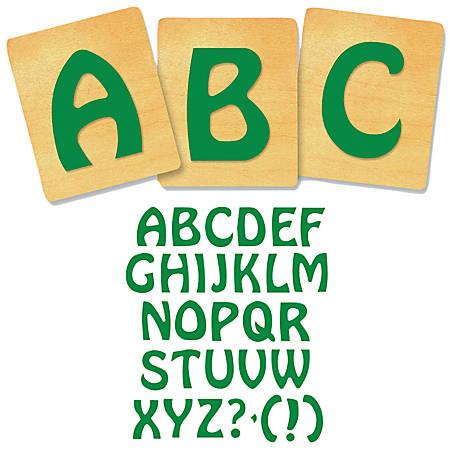 """Ellison® Prestige® SureCut™ Alphabet Set, 4"""", Vagabond™ Capital Letters"""