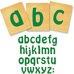 """Ellison® Prestige® SureCut™ Alphabet Set, 4"""", Vagabond™ Lowercase Letters"""